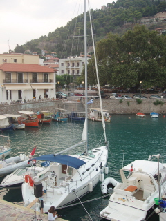 At the harbour of Navpatkos